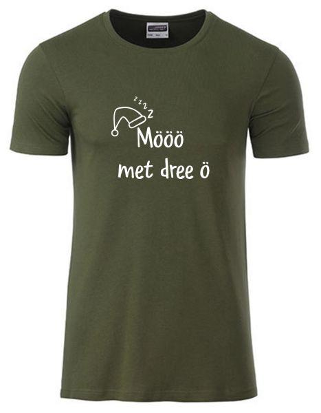 Mööö met dree ö | T-Shirt JUNGE | OLIVE GREEN (olivgrün)