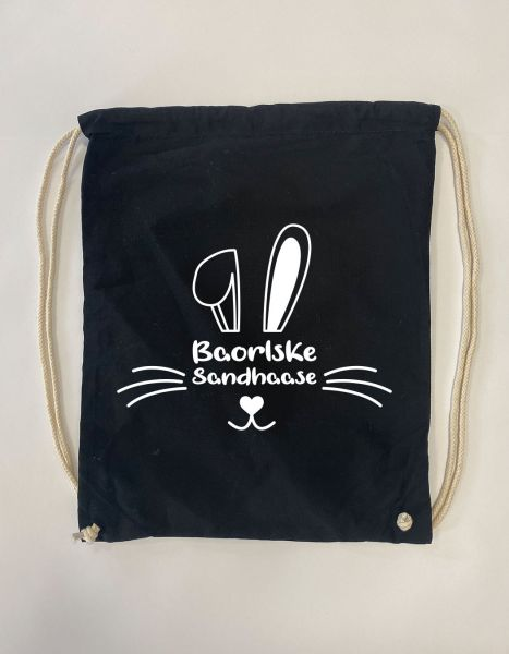 Baorlske Sandhaase | Baumwoll Rucksack | Sportsack