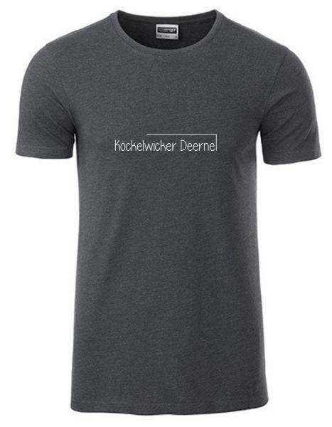 Köckelwicker Deerne | T-Shirt JUNGE | BLACK HEATHER (schwarzgrau)
