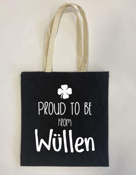 Proud to be from Wüllen | Baumwoll Tasche | Einkaufstasche