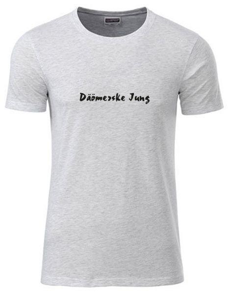 Däömerske Jung   T-Shirt JUNGE   ASH HEATHER (hellgrau)