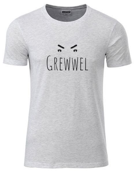 Grewwel | T-Shirt JUNGE | ASH HEATHER (hellgrau)