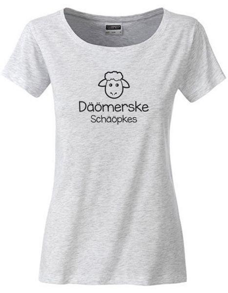 Däömerske Schäöpkes | T-Shirt DEERNE | ASH HEATHER (hellgrau)