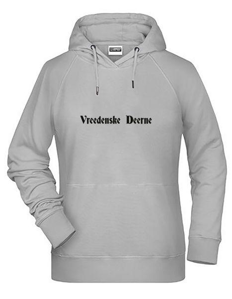 Vreedenske Deerne | Hoodie DEERNE | ASH (hellgrau)