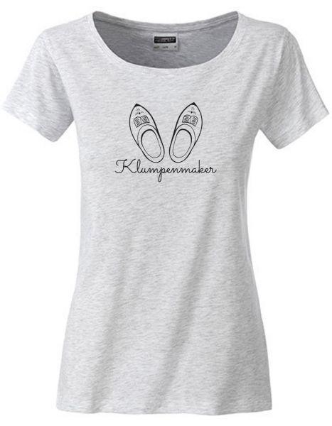 Klumpenmaker | T-Shirt DEERNE | ASH HEATHER (hellgrau)