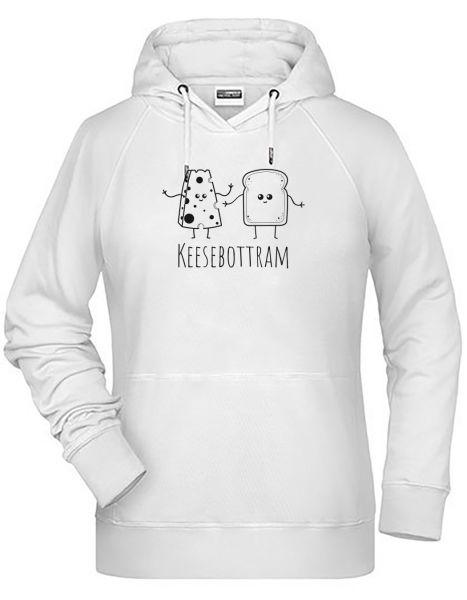 Keesebottram | Hoodie WOMAN | ASH (hellgrau)