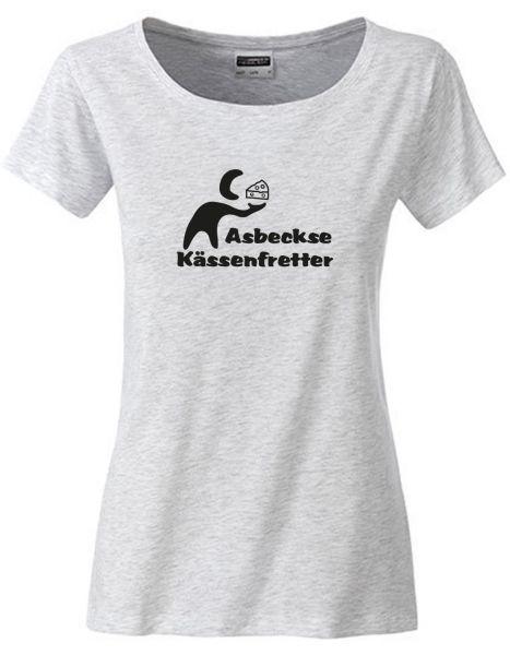 Asbeckse Kässenfretter | T-Shirt DEERNE | ASH HEATHER (hellgrau)