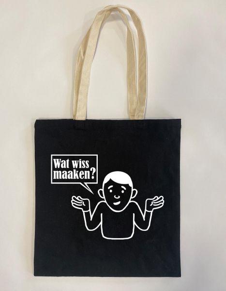 Wat wiss maaken? | Baumwoll Tasche | Einkaufstasche