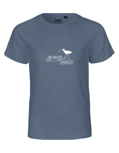 Zwillbrocker Vennetüte | T-Shirt KINDER | DUSTY INDIGO (blaugrau)