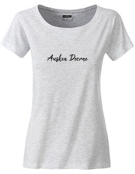 Ausken Deerne | T-Shirt DEERNE | ASH HEATHER (hellgrau)