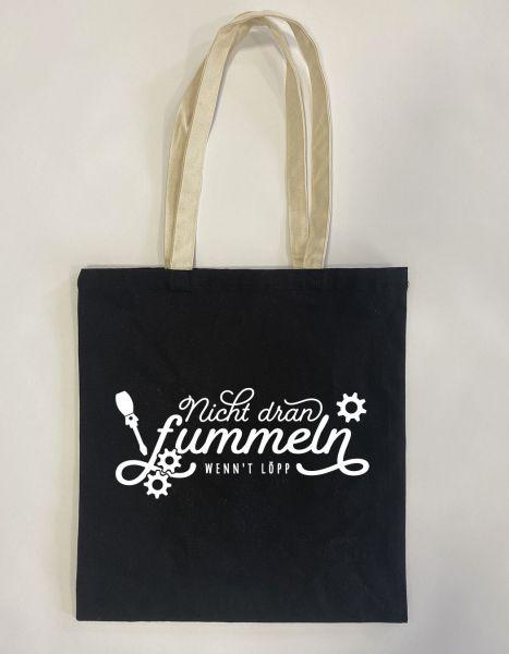 Nicht dran fummeln wenn't löpp | Baumwoll Tasche | Einkaufstasche