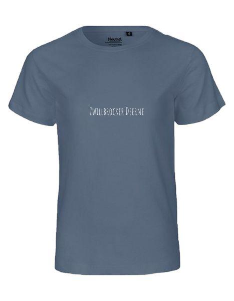 Zwillbrocker Deerne | T-Shirt KINDER | DUSTY INDIGO (blaugrau)