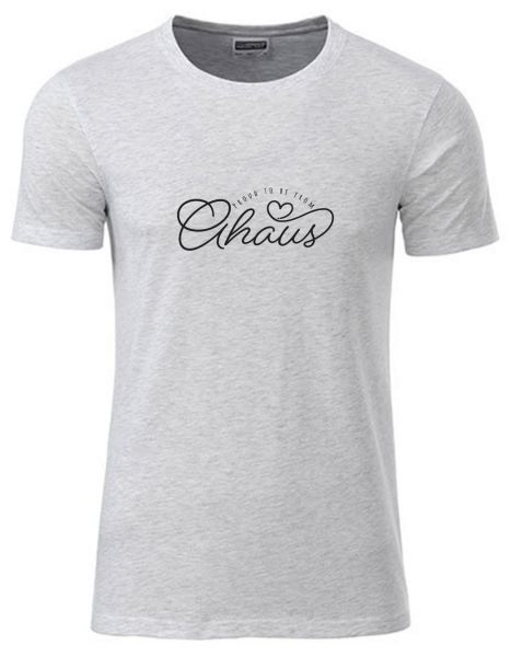 Proud to be from Ahaus | T-Shirt JUNGE | ASH HEATHER (hellgrau)