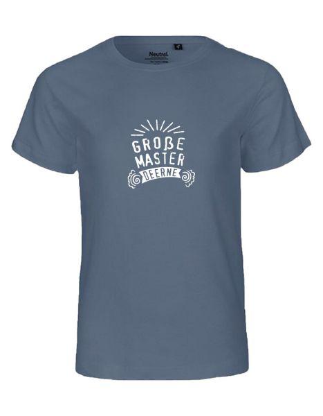 Große Master Deerne | T-Shirt KINDER | DUSTY INDIGO (blaugrau)