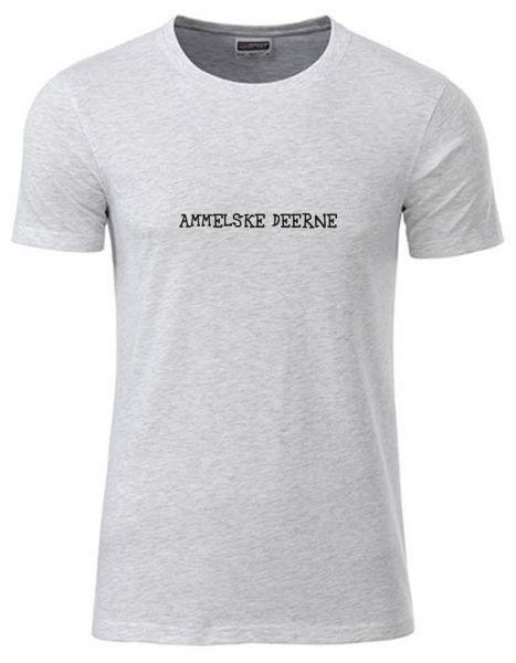 Ammelske Deerne | T-Shirt JUNGE | ASH HEATHER (hellgrau)