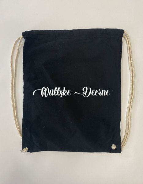 Wüllske Deerne | Baumwoll Rucksack | Sportsack