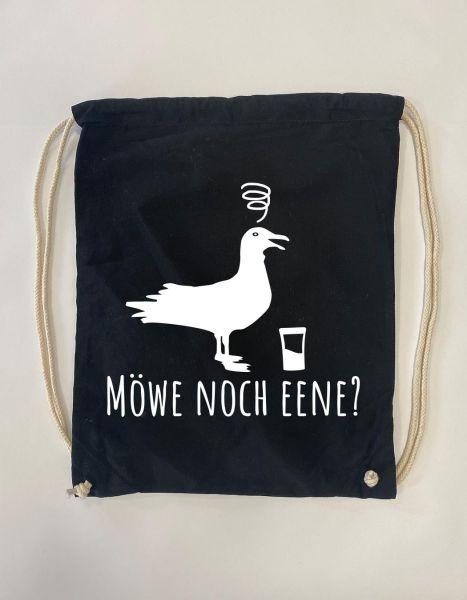 Möwe noch eene? | Baumwoll Rucksack | Sportsack