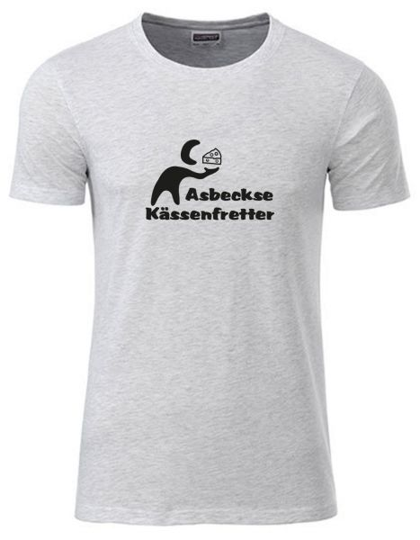 Asbeckse Kässenfretter | T-Shirt JUNGE | ASH HEATHER (hellgrau)