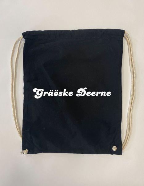 Graöske Deerne | Baumwoll Rucksack | Sportsack