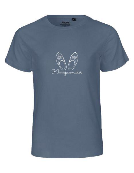 Klumpenmaker | T-Shirt KINDER | DUSTY INDIGO (blaugrau)