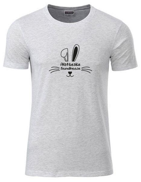 Alstäeske Sandhaase | T-Shirt JUNGE | ASH HEATHER (hellgrau)