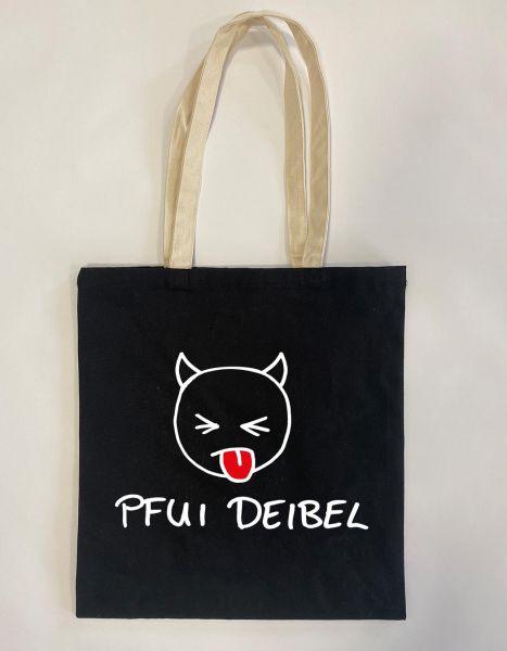 Pfui Deibel | Baumwoll Tasche | Einkaufstasche