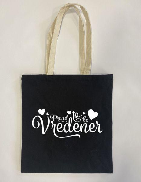 Proud to be Vredener | Baumwoll Tasche | Einkaufstasche