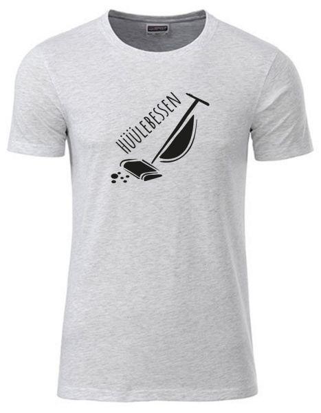 Hüllebessen | T-Shirt JUNGE | ASH HEATHER (hellgrau)