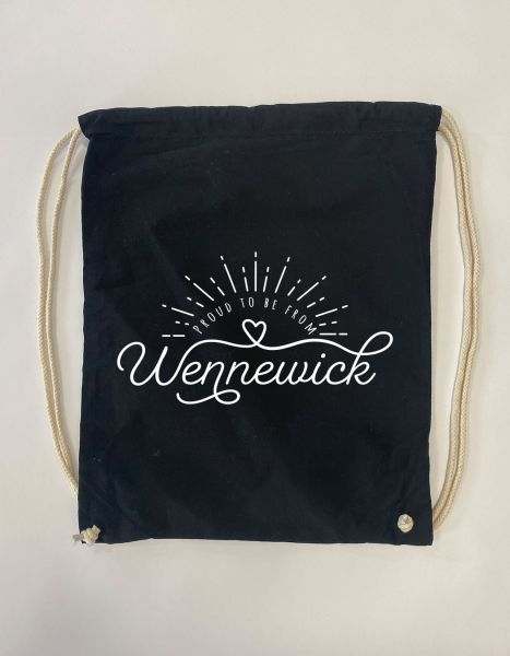 Proud to be from Wennewick | Baumwoll Rucksack | Sportsack