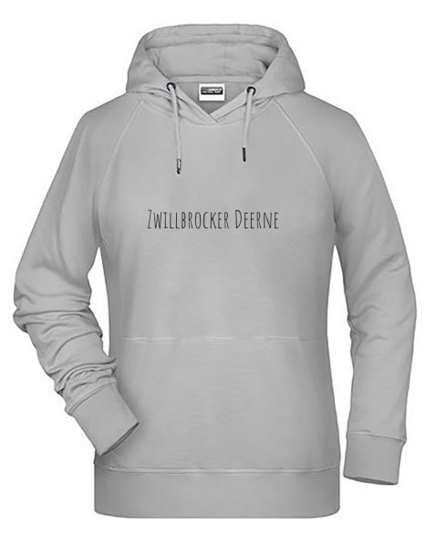 Zwillbrocker Deerne | Hoodie DEERNE | ASH (hellgrau)