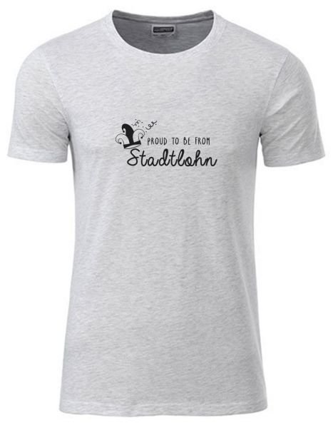 Proud to be from Stadtlohn | T-Shirt JUNGE | ASH HEATHER (hellgrau)