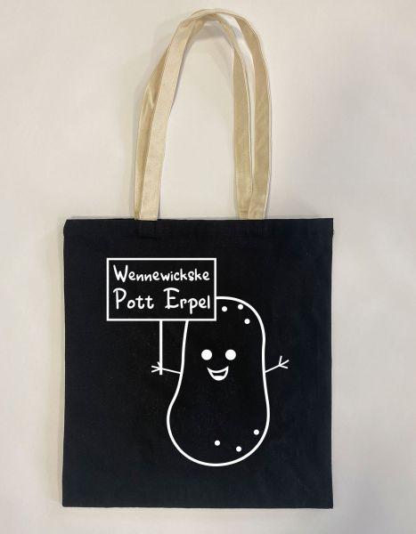 Wennewickske Pott Erpel | Baumwoll Tasche | Einkaufstasche