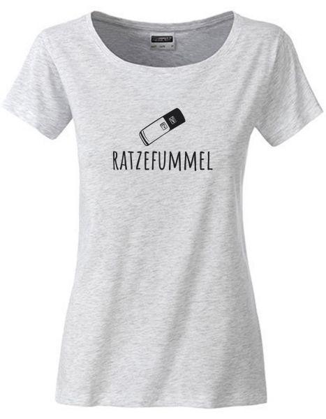 Ratzefummel | T-Shirt DEERNE | ASH HEATHER (hellgrau)