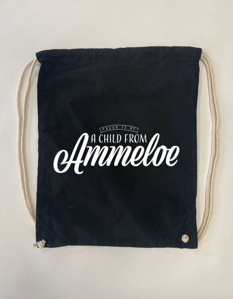 Proud to be a child from Ammeloe | Baumwoll Rucksack | Sportsack
