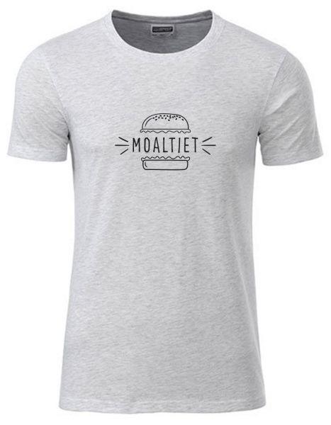 Moaltiet | T-Shirt JUNGE | ASH HEATHER (hellgrau)