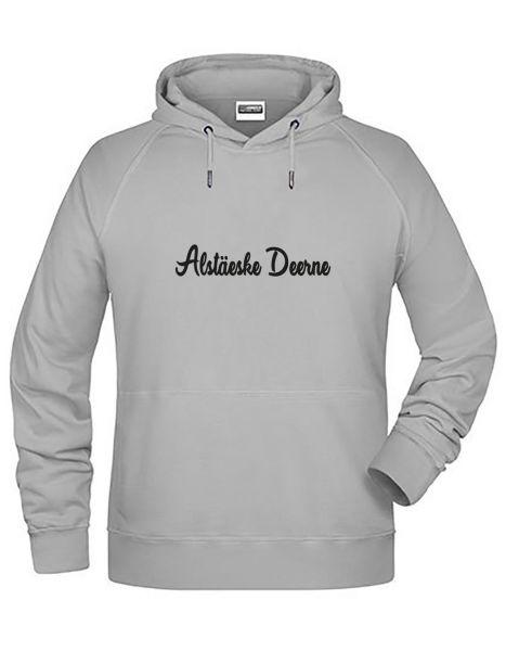 Alstäeske Deerne| Hoodie JUNGE | ASH (hellgrau)