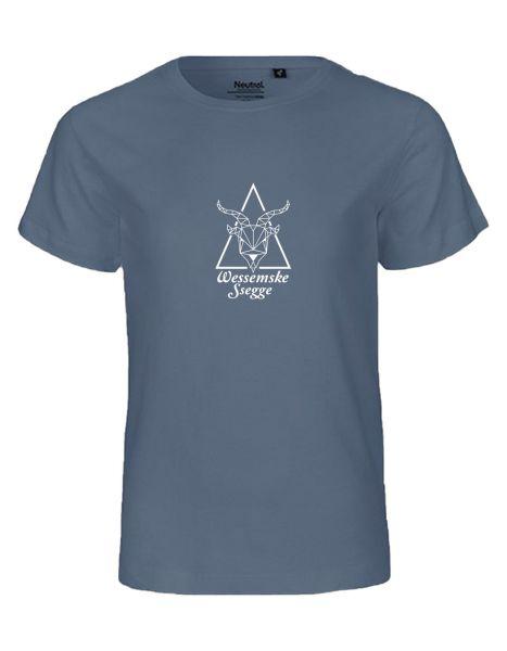 Wessemske Ssegge | T-Shirt KINDER | DUSTY INDIGO (blaugrau)
