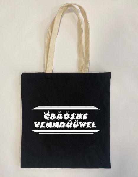 Gräöske Venndüüwel | Baumwoll Tasche | Einkaufstasche