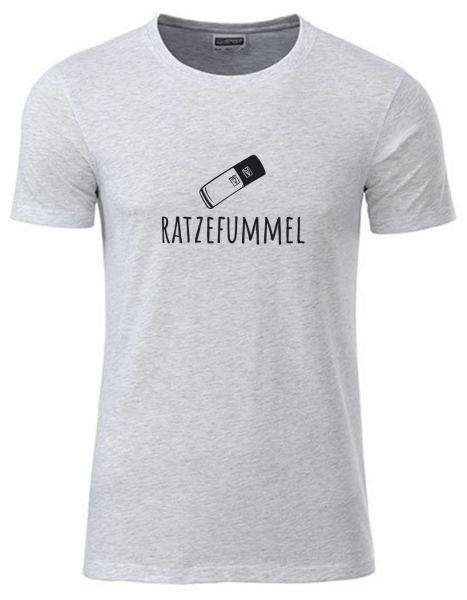 Ratzefummel | T-Shirt JUNGE | ASH HEATHER (hellgrau)