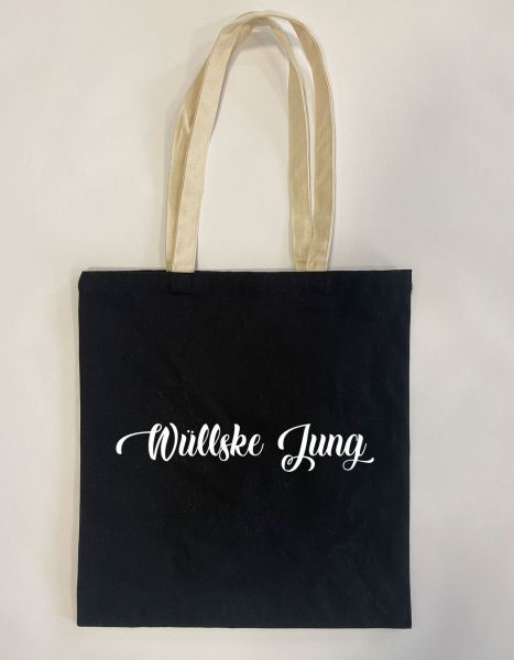 Wüllske Jung   Baumwoll Tasche   Einkaufstasche