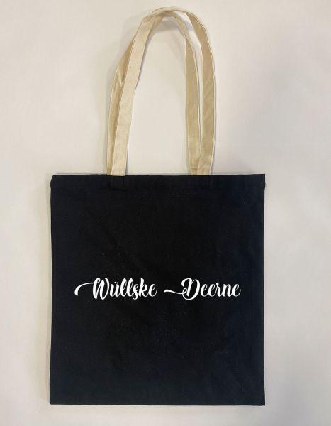 Wüllske Deerne | Baumwoll Tasche | Einkaufstasche