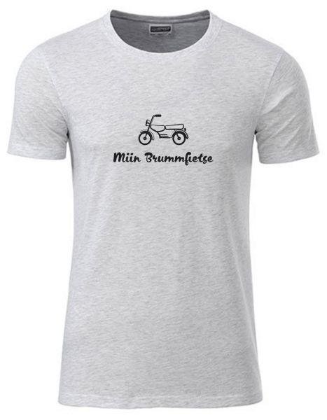 Miin Brummfietse | T-Shirt JUNGE | ASH HEATHER (hellgrau)