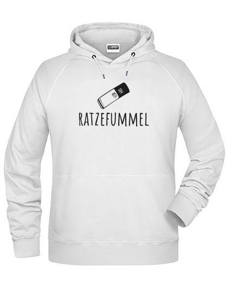 Ratzefummel | Hoodie MAN | WHITE (weiß)