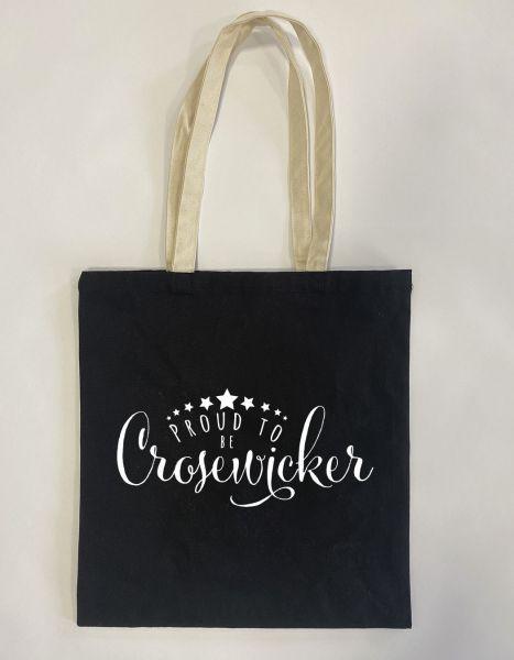 Proud to be Crosewicker | Baumwoll Tasche | Einkaufstasche