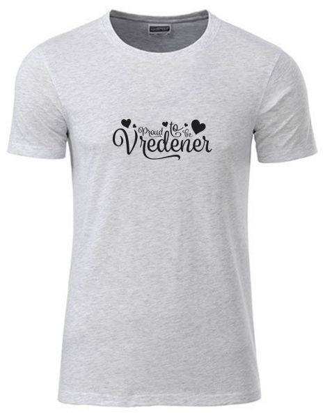 Proud to be Vredener | T-Shirt JUNGE | ASH HEATHER (hellgrau)