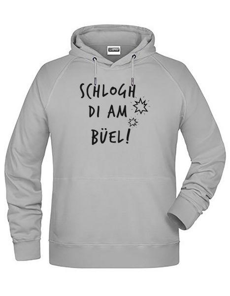 Schlogh di am Büel | Hoodie MAN | ASH (hellgrau)