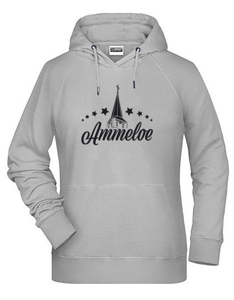 Ammeloe | Hoodie WOMAN | ASH (hellgrau)