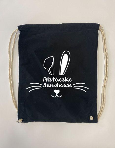 Alstäeske Sandhaase | Baumwoll Rucksack | Sportsack