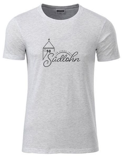 I am coming from Südlohn | T-Shirt JUNGE | ASH HEATHER (hellgrau)