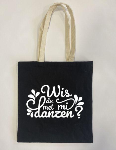 Wis du met mi danzen? | Baumwoll Tasche | Einkaufstasche